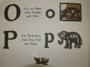 Aunt Elspa's O and P